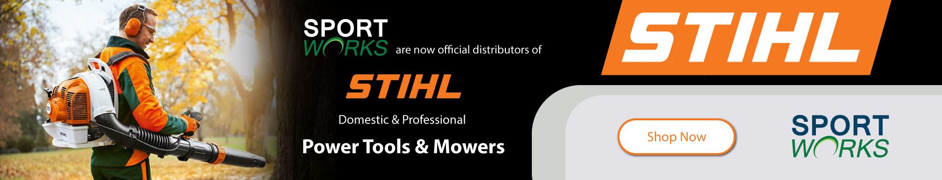 STIHL official distributors banner image